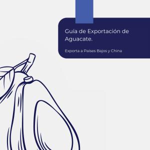 Portada Guía de Exportación de Aguacate - exoap